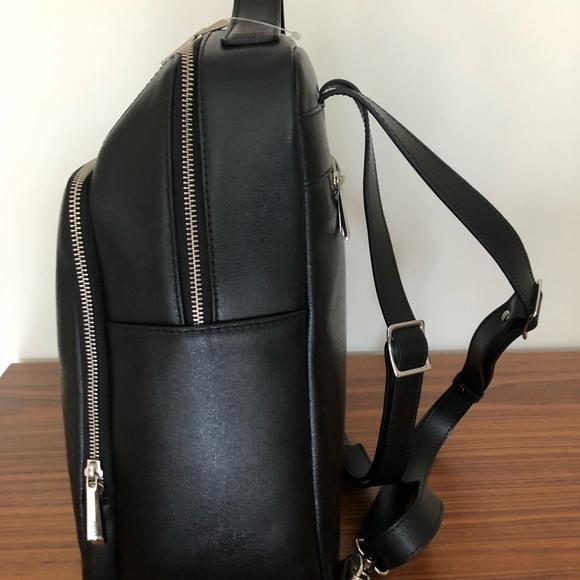 301156961e Barney's Saffiano Leather Backpack Black